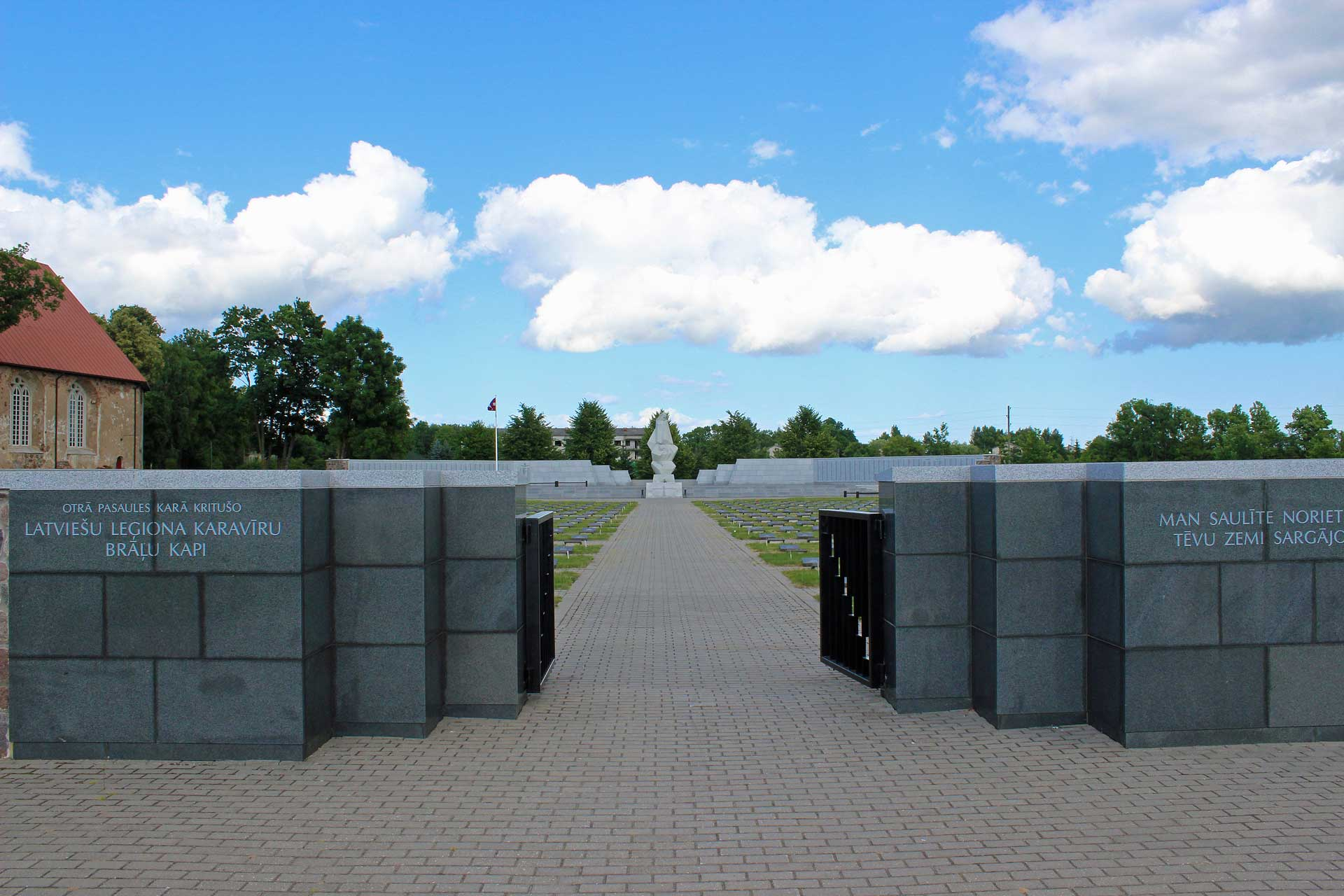 Latvia's Biggest War Cemetery – Among Partisans And SS